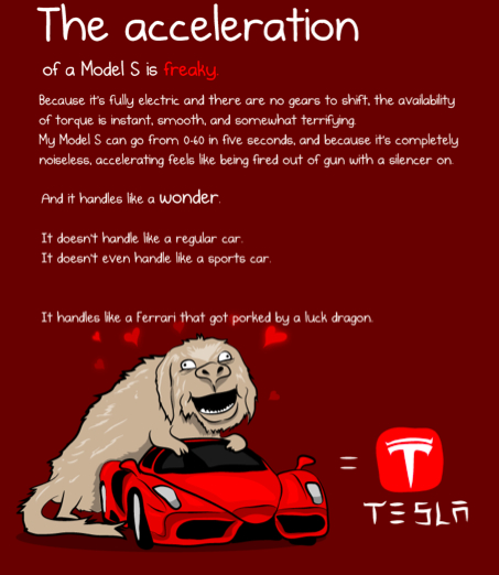 cartoon tesla 3