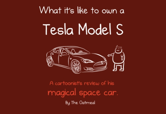 tesla cartoon
